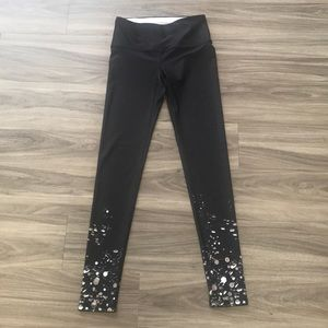 NWT Pure Barre Holiday Glitter Tight